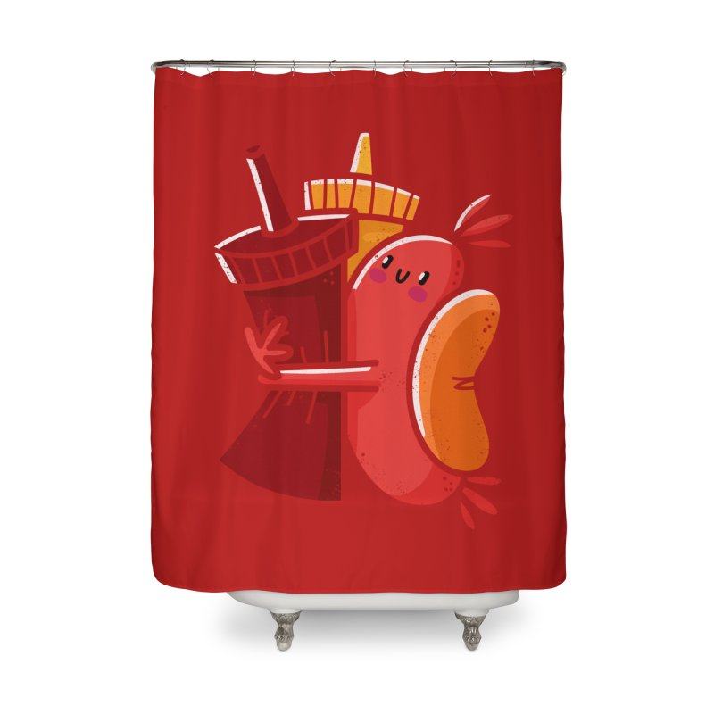 Condimentary Home Shower Curtain by TipTop's Artist Shop
