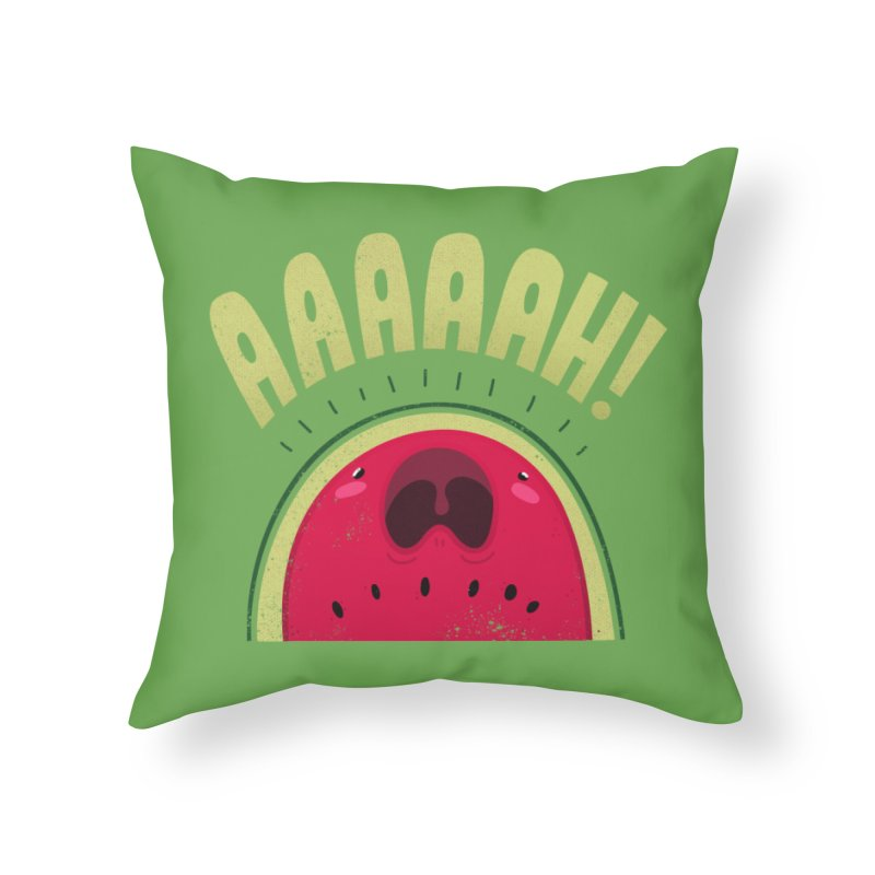 WaterYellin' Home Throw Pillow by TipTop's Artist Shop
