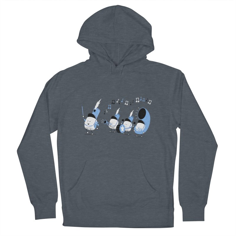 Marchmallow Band Men's Pullover Hoody by TipTop's Artist Shop