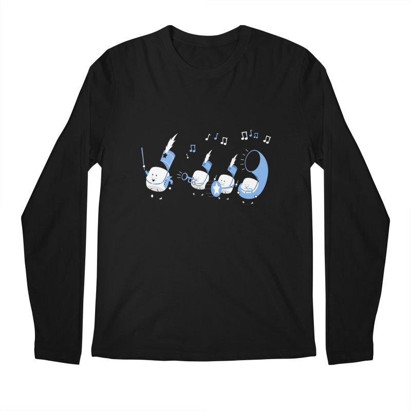 Marchmallow Band Men's Longsleeve T-Shirt by TipTop's Artist Shop