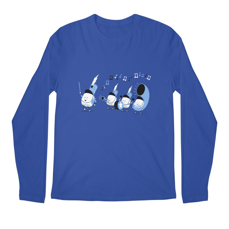 Marchmallow Band Men's Longsleeve T-Shirt by TipTop's Artist Shop