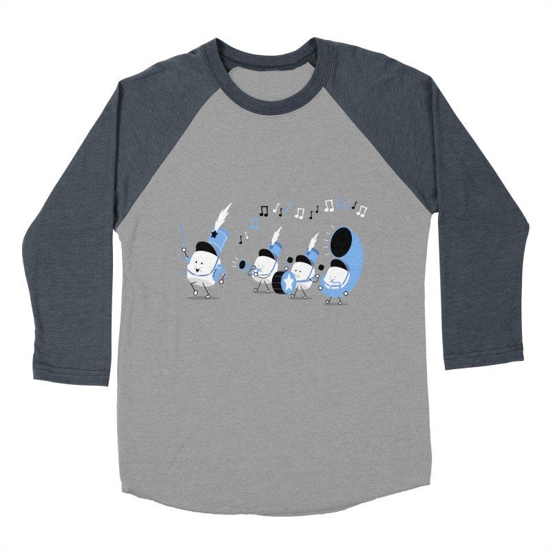 Marchmallow Band Men's Baseball Triblend T-Shirt by TipTop's Artist Shop