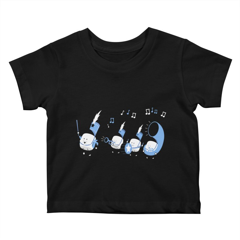Marchmallow Band Kids Baby T-Shirt by TipTop's Artist Shop