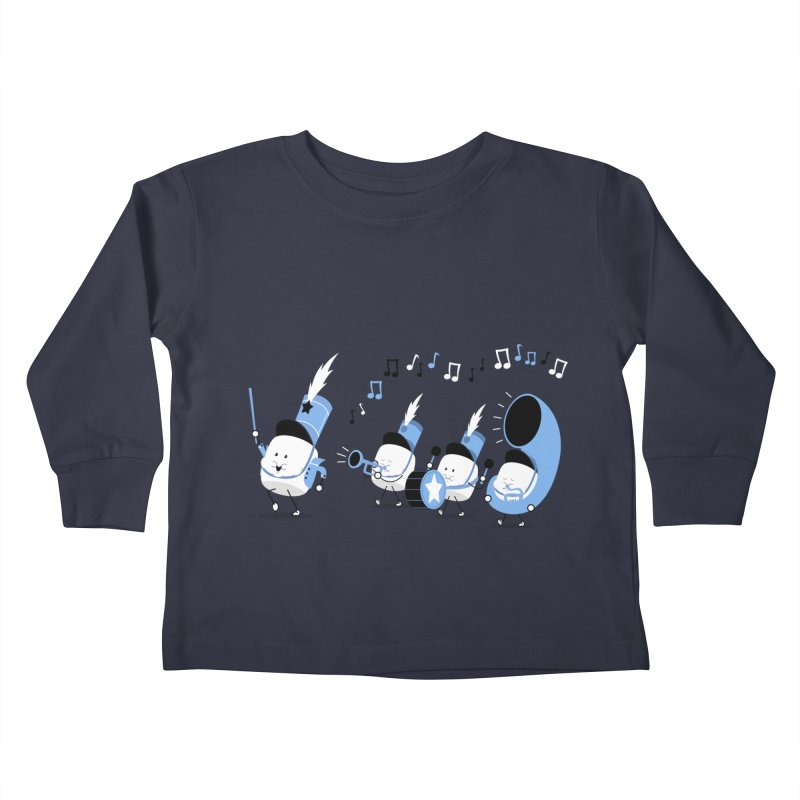 Marchmallow Band Kids Toddler Longsleeve T-Shirt by TipTop's Artist Shop