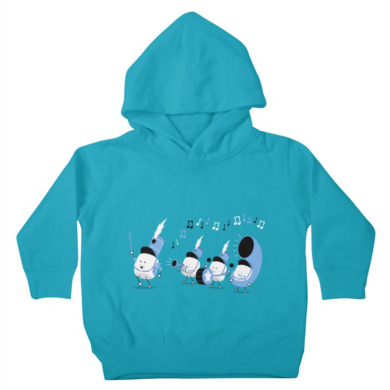 Marchmallow Band Kids Toddler Pullover Hoody by TipTop's Artist Shop