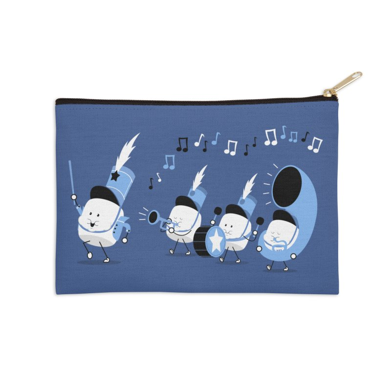 Marchmallow Band Accessories Zip Pouch by TipTop's Artist Shop