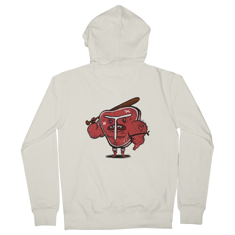 Tough Steak Women's Zip-Up Hoody by TipTop's Artist Shop