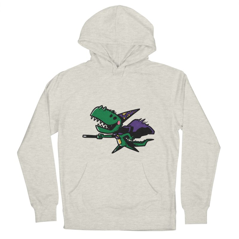 Dino Wizard Women's Pullover Hoody by TipTop's Artist Shop