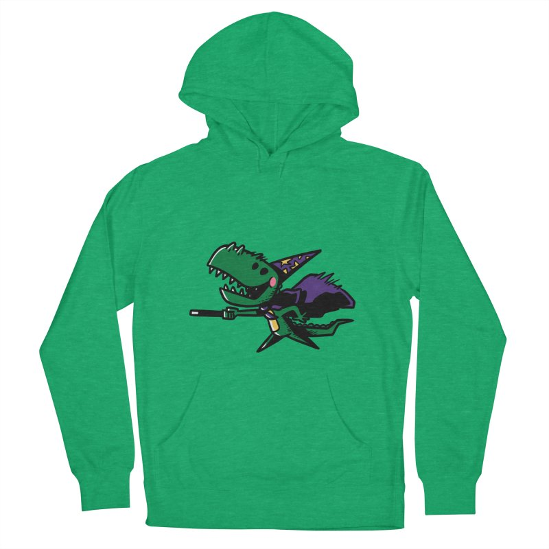 Dino Wizard Men's Pullover Hoody by TipTop's Artist Shop
