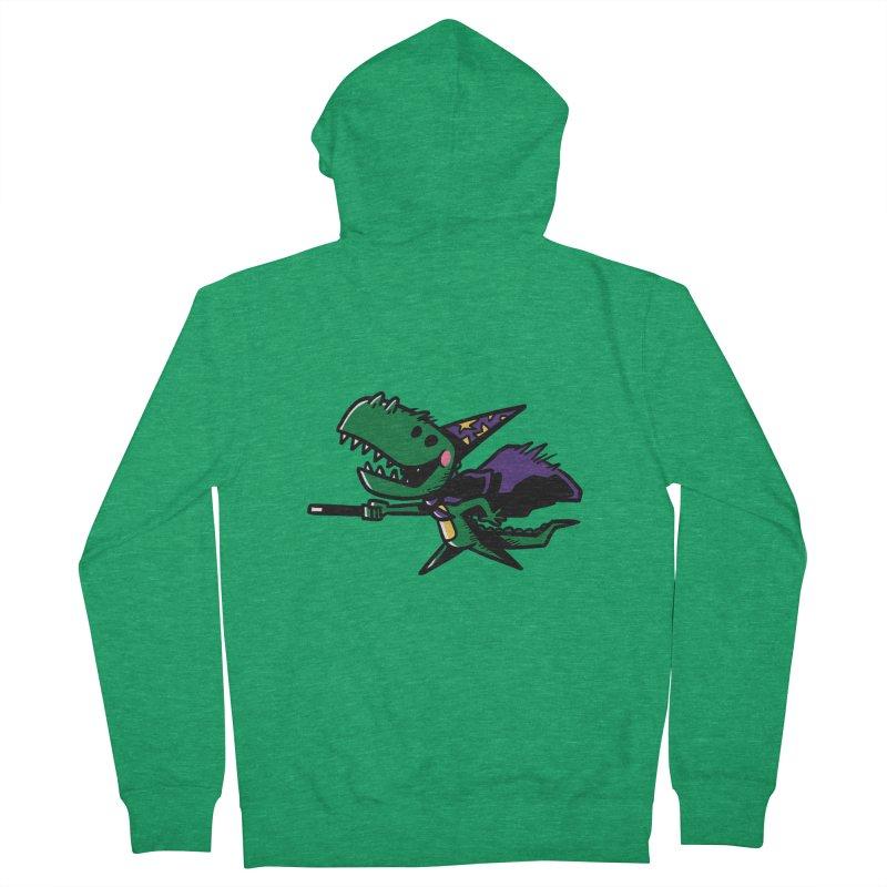 Dino Wizard Women's Zip-Up Hoody by TipTop's Artist Shop