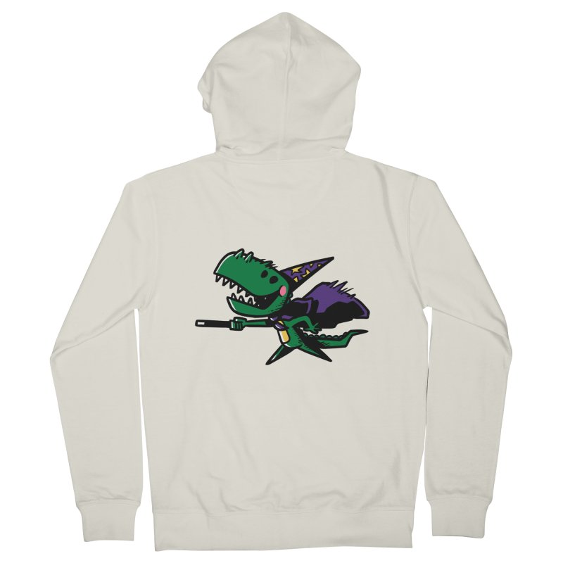 Dino Wizard Women's Zip-Up Hoody by TipTop's Artist Shop