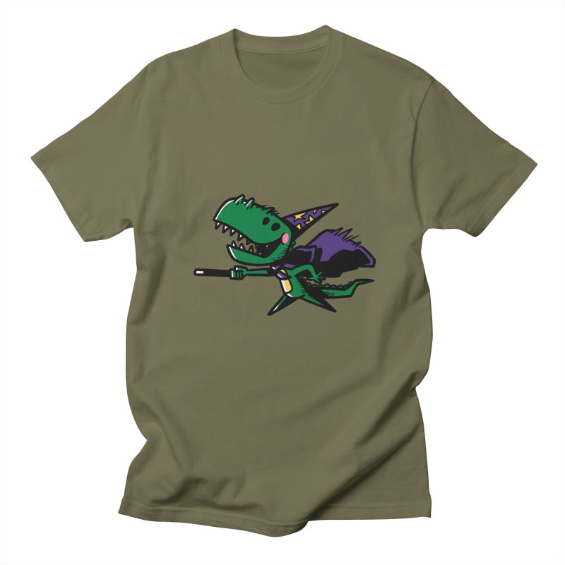 Dino Wizard Men's T-shirt by TipTop's Artist Shop