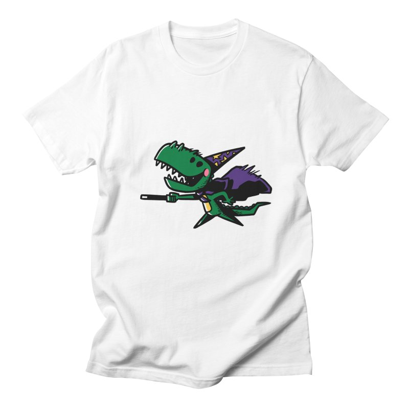 Dino Wizard Men's T-shirt by TipTop's Artist Shop