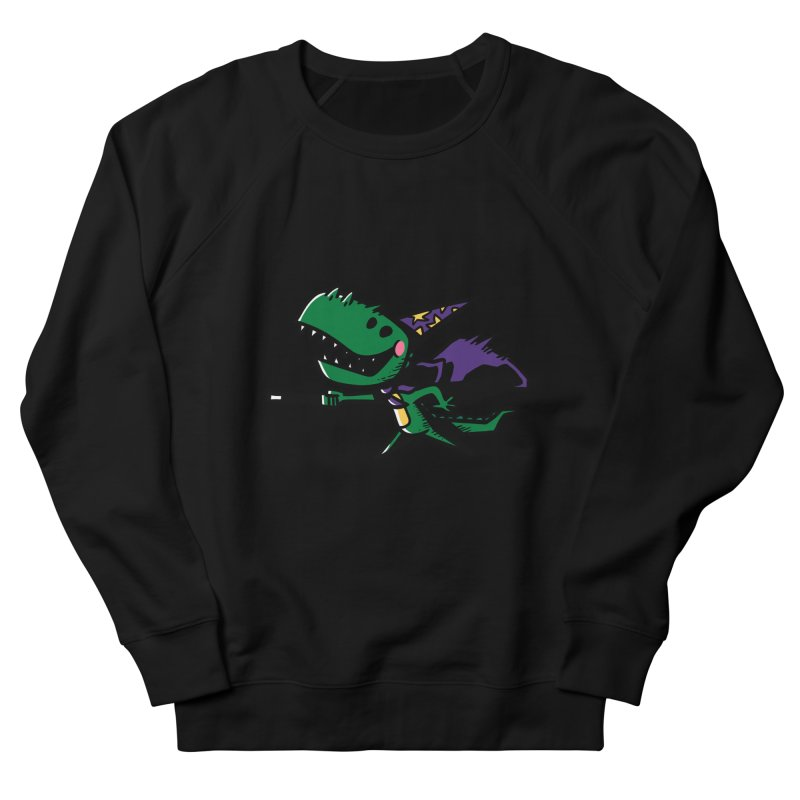 Dino Wizard Men's Sweatshirt by TipTop's Artist Shop