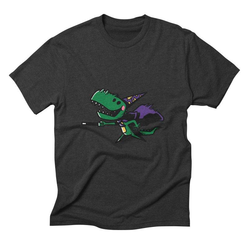 Dino Wizard Men's Triblend T-shirt by TipTop's Artist Shop