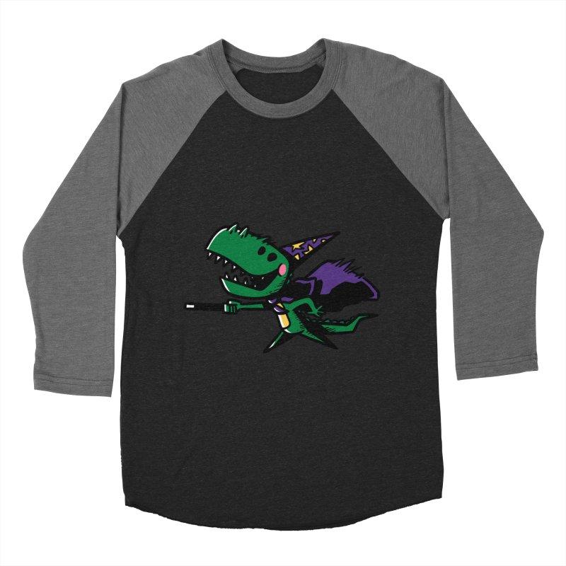 Dino Wizard Women's Baseball Triblend T-Shirt by TipTop's Artist Shop