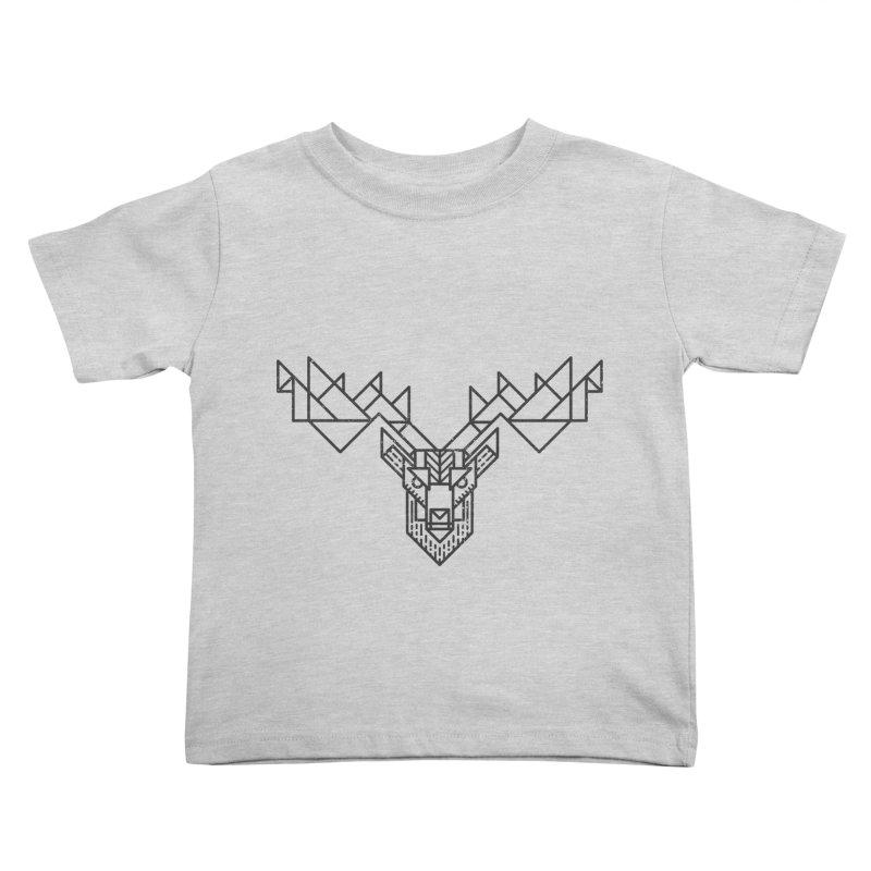 Deer Kids Toddler T-Shirt by TipTop's Artist Shop
