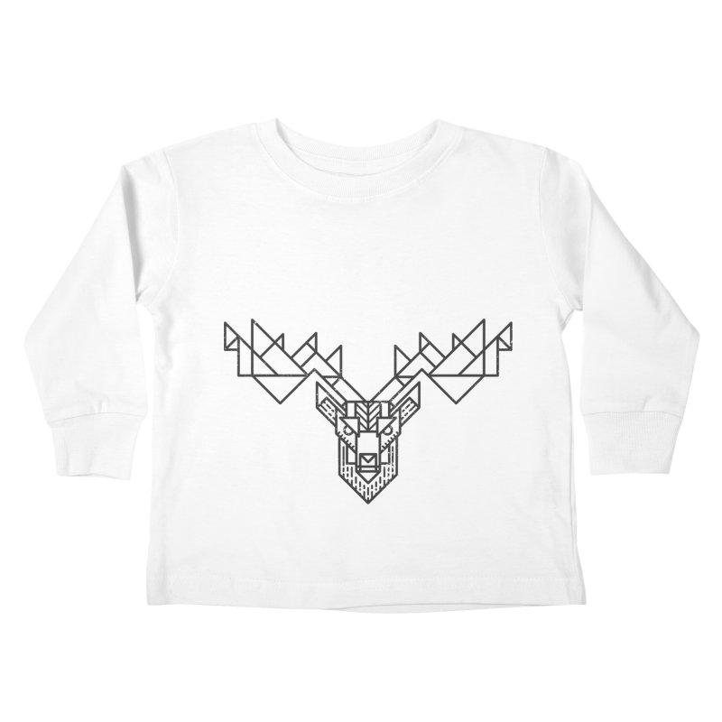 Deer Kids Toddler Longsleeve T-Shirt by TipTop's Artist Shop