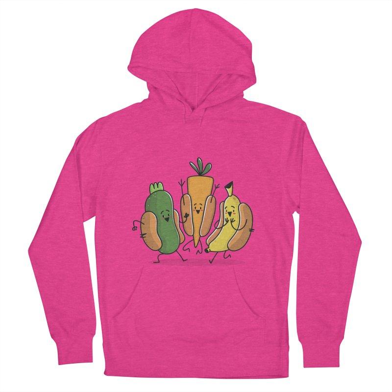 Fruit and veggie hotdogs Women's Pullover Hoody by TipTop's Artist Shop