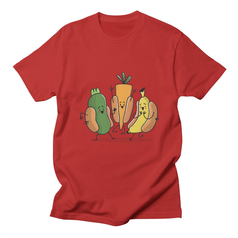 Fruit and veggie hotdogs   by TipTop's Artist Shop