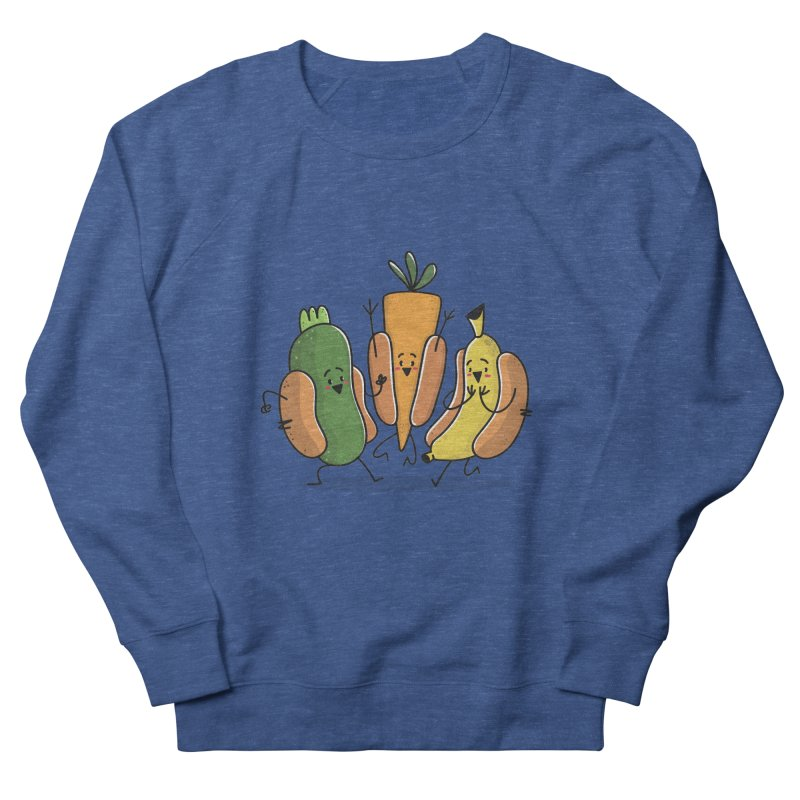 Fruit and veggie hotdogs Men's Sweatshirt by TipTop's Artist Shop