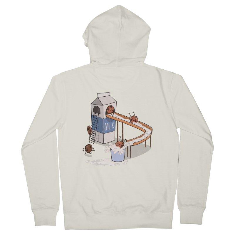 Cookie Slide Men's Zip-Up Hoody by TipTop's Artist Shop