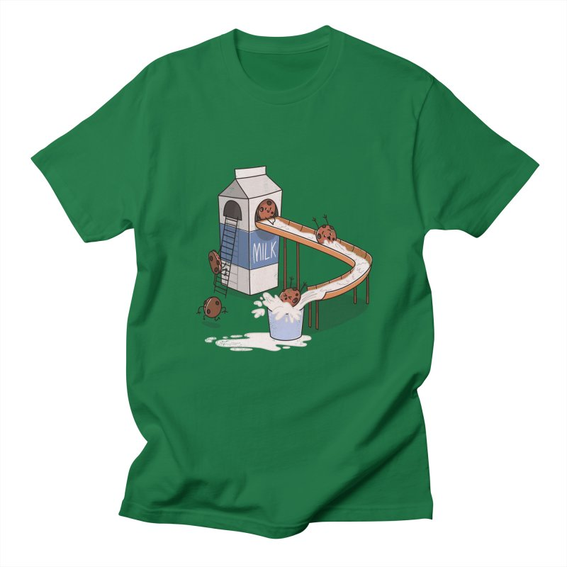 Cookie Slide Men's T-shirt by TipTop's Artist Shop