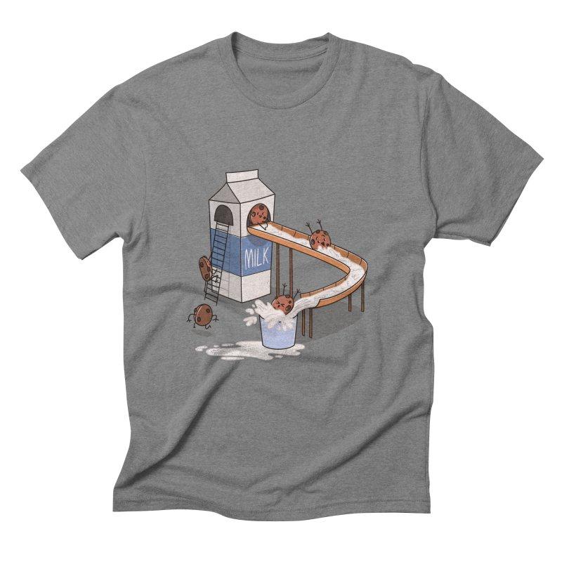 Cookie Slide Men's Triblend T-shirt by TipTop's Artist Shop