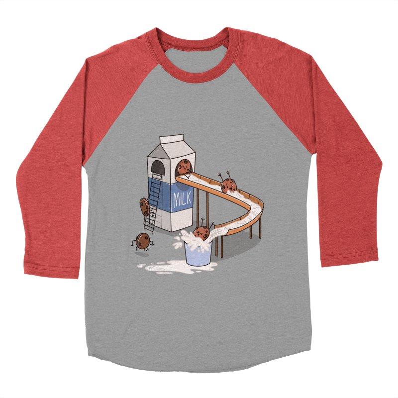 Cookie Slide Men's Baseball Triblend T-Shirt by TipTop's Artist Shop