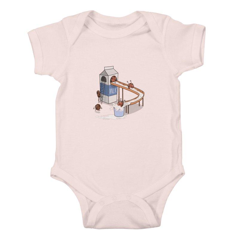 Cookie Slide Kids Baby Bodysuit by TipTop's Artist Shop