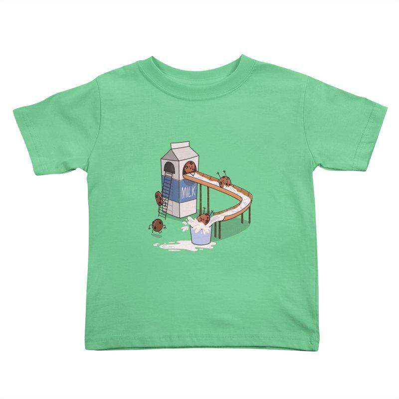Cookie Slide Kids Toddler T-Shirt by TipTop's Artist Shop