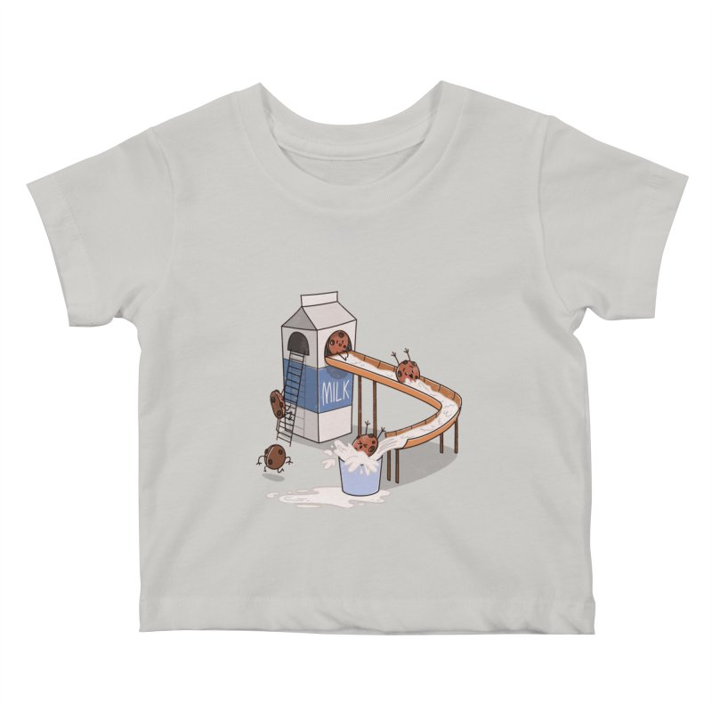 Cookie Slide Kids Baby T-Shirt by TipTop's Artist Shop