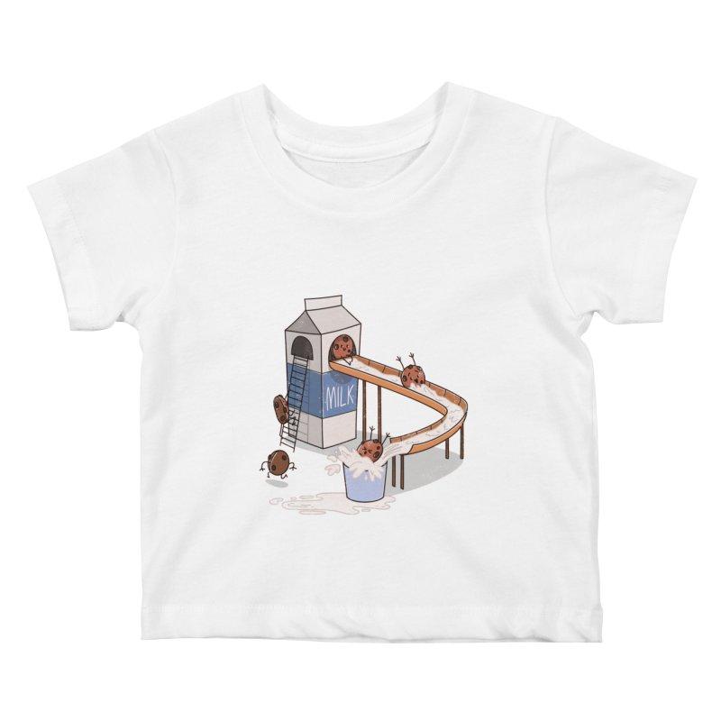 Cookie Slide Kids Baby T-Shirt by TipTop's Artist Shop
