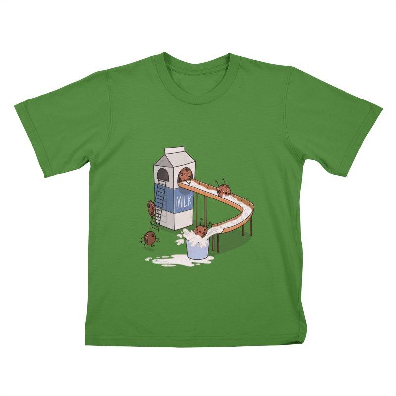 Cookie Slide Kids T-Shirt by TipTop's Artist Shop