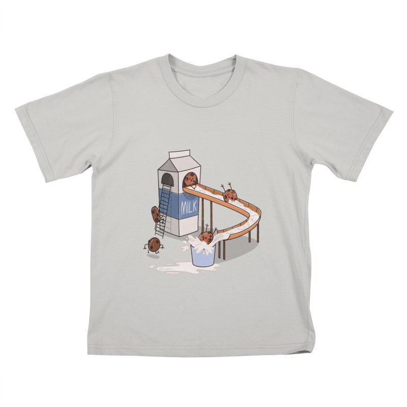 Cookie Slide Kids T-shirt by TipTop's Artist Shop