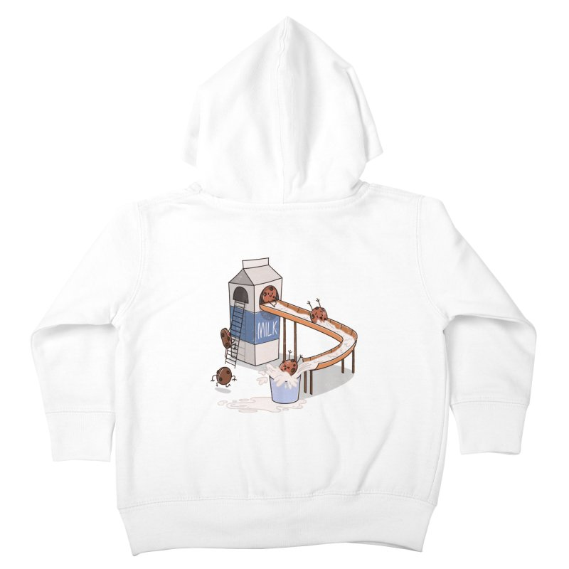 Cookie Slide Kids Toddler Zip-Up Hoody by TipTop's Artist Shop