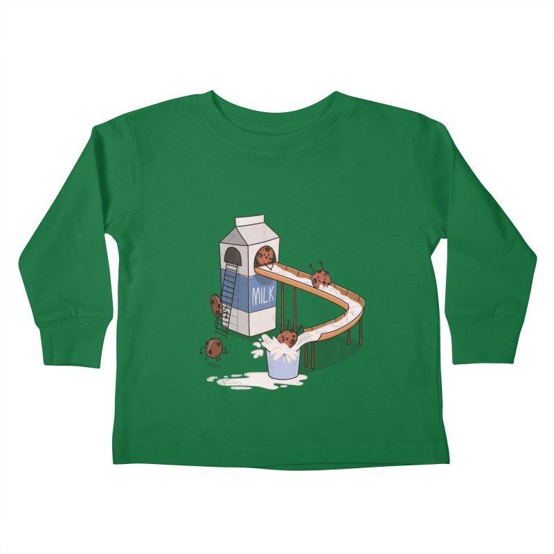 Cookie Slide Kids Toddler Longsleeve T-Shirt by TipTop's Artist Shop