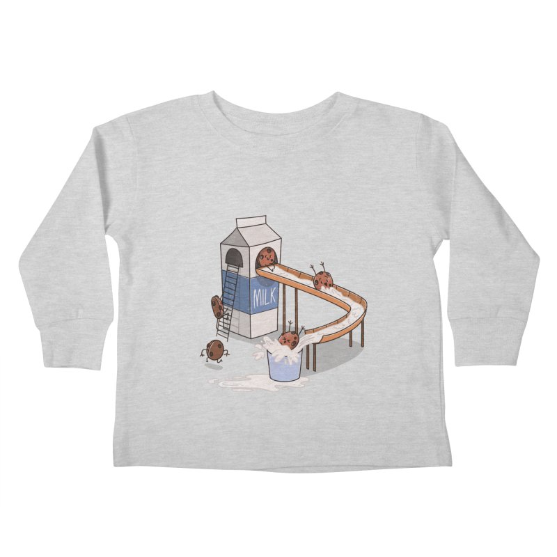 Cookie Slide Kids Toddler Longsleeve T-Shirt by TipTop's Artist Shop