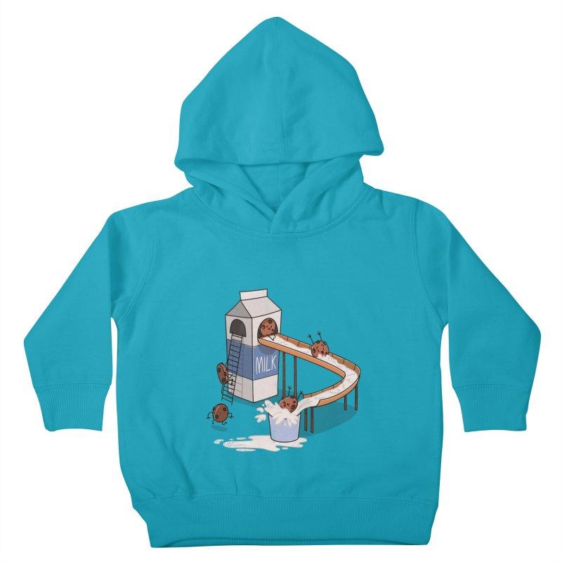 Cookie Slide Kids Toddler Pullover Hoody by TipTop's Artist Shop