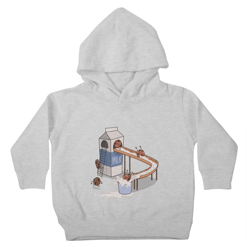 Cookie Slide Kids Toddler Pullover Hoody by TipTop's Artist Shop
