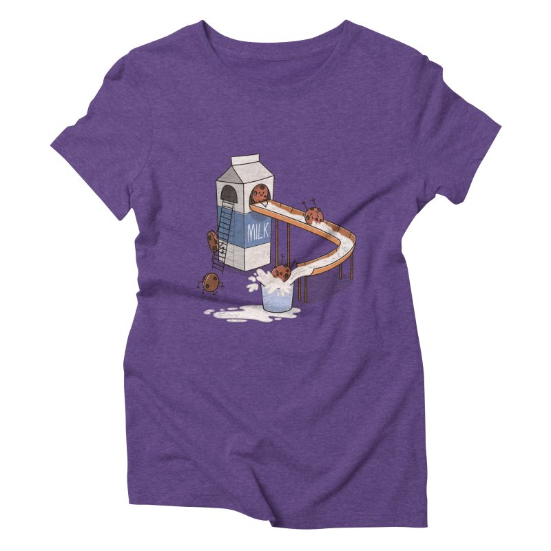Cookie Slide Women's Triblend T-shirt by TipTop's Artist Shop