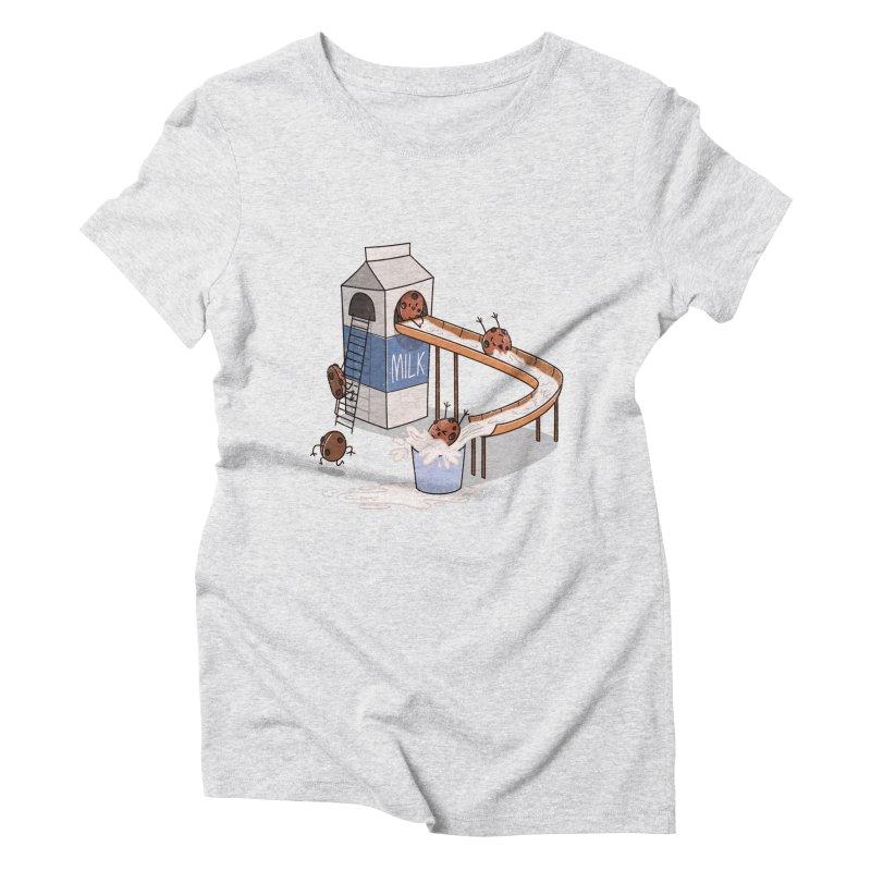 Cookie Slide Women's Triblend T-Shirt by TipTop's Artist Shop