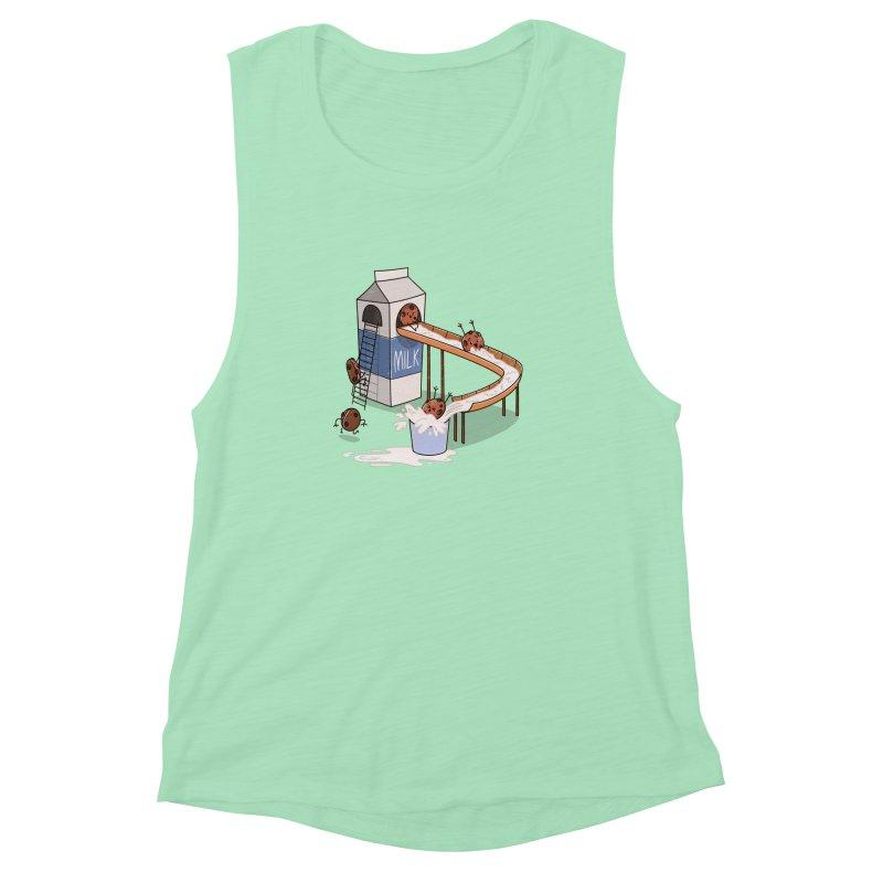 Cookie Slide Women's Muscle Tank by TipTop's Artist Shop