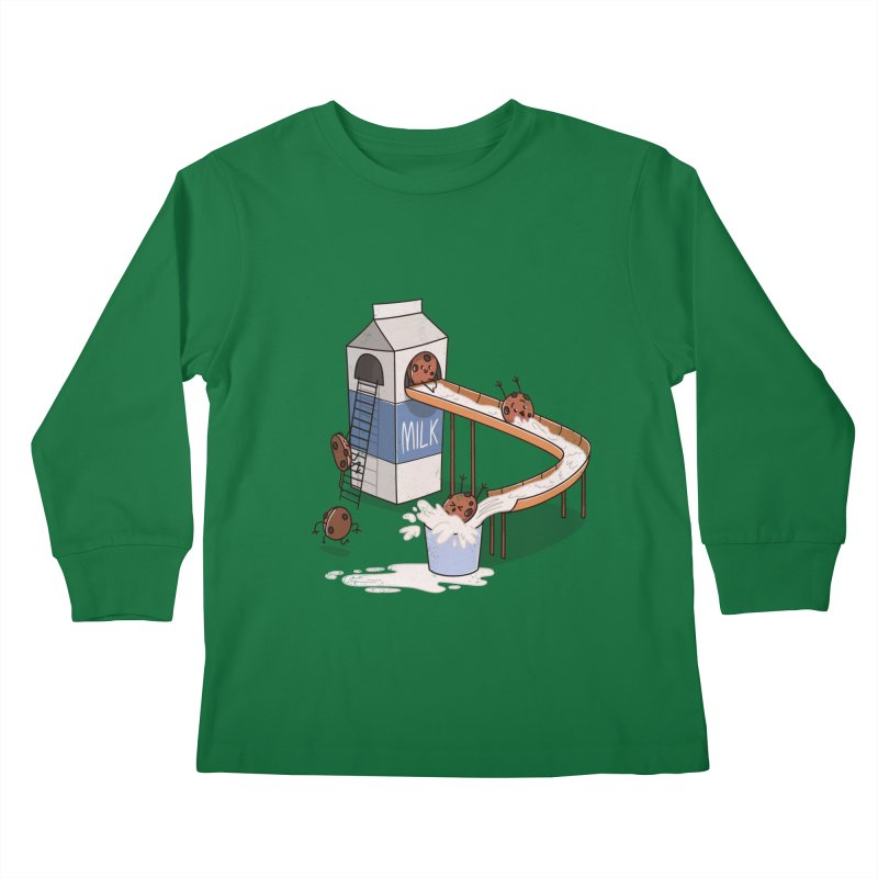 Cookie Slide Kids Longsleeve T-Shirt by TipTop's Artist Shop