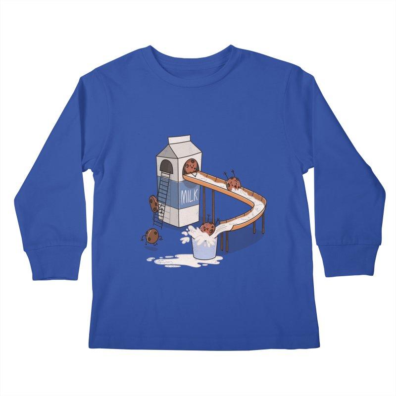 Cookie Slide Kids Longsleeve T-Shirt by TipTop's Artist Shop