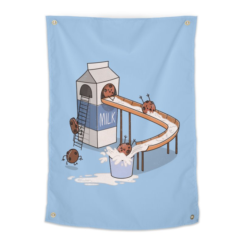 Cookie Slide Home Tapestry by TipTop's Artist Shop