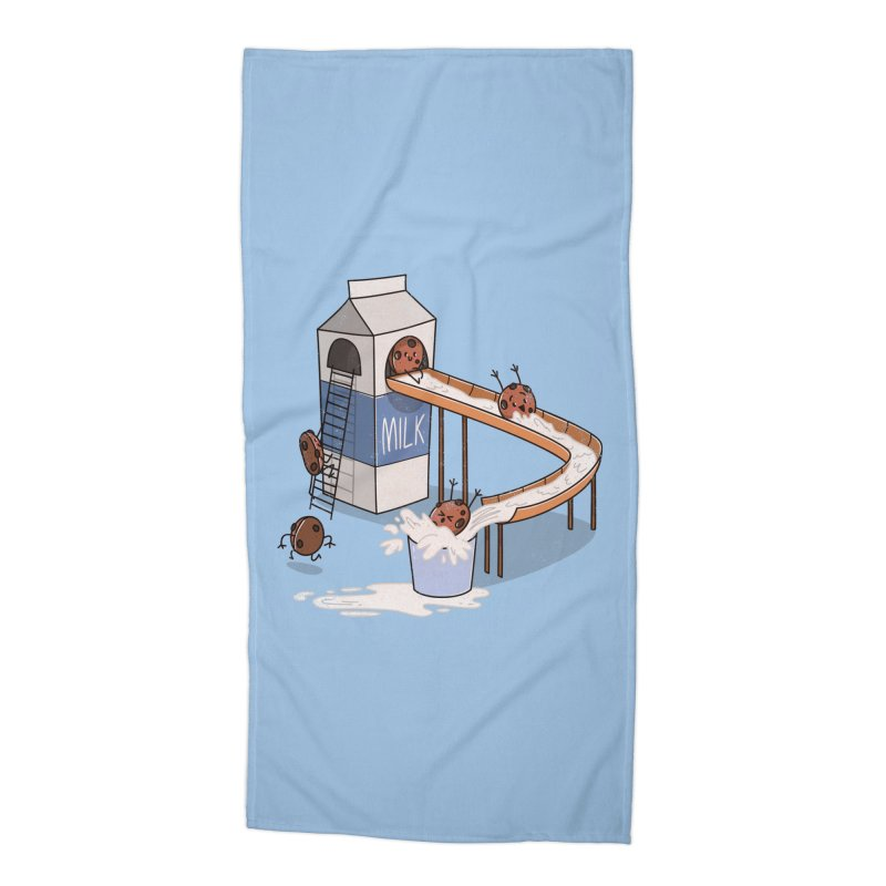 Cookie Slide Accessories Beach Towel by TipTop's Artist Shop