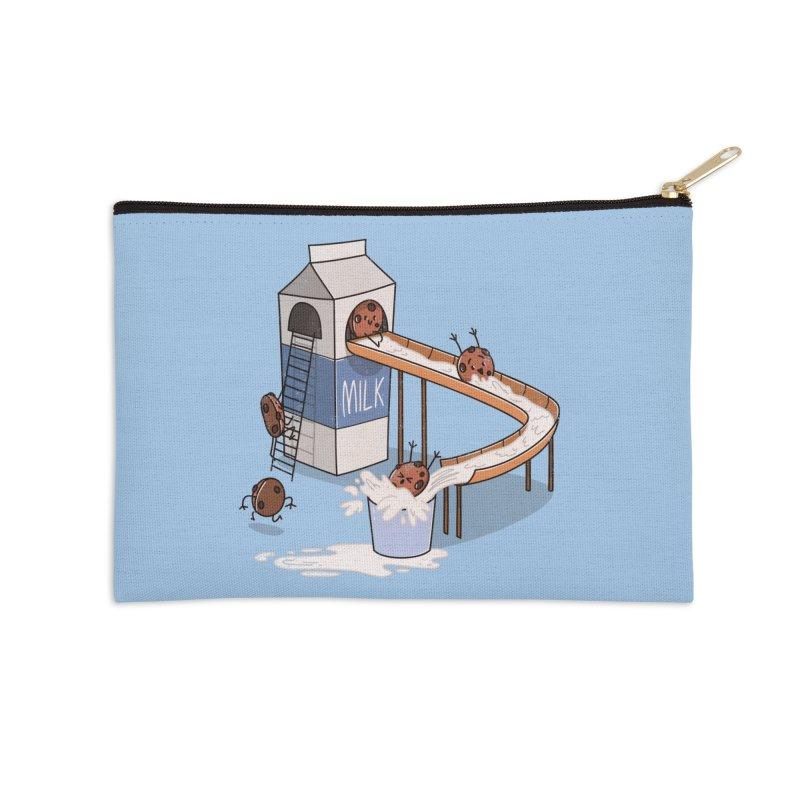 Cookie Slide Accessories Zip Pouch by TipTop's Artist Shop