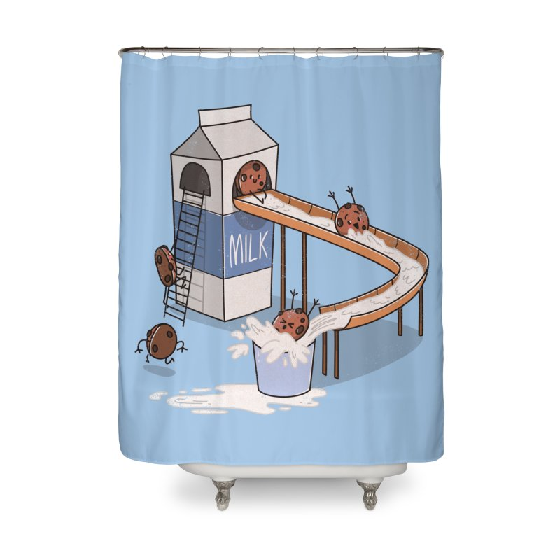 Cookie Slide Home Shower Curtain by TipTop's Artist Shop