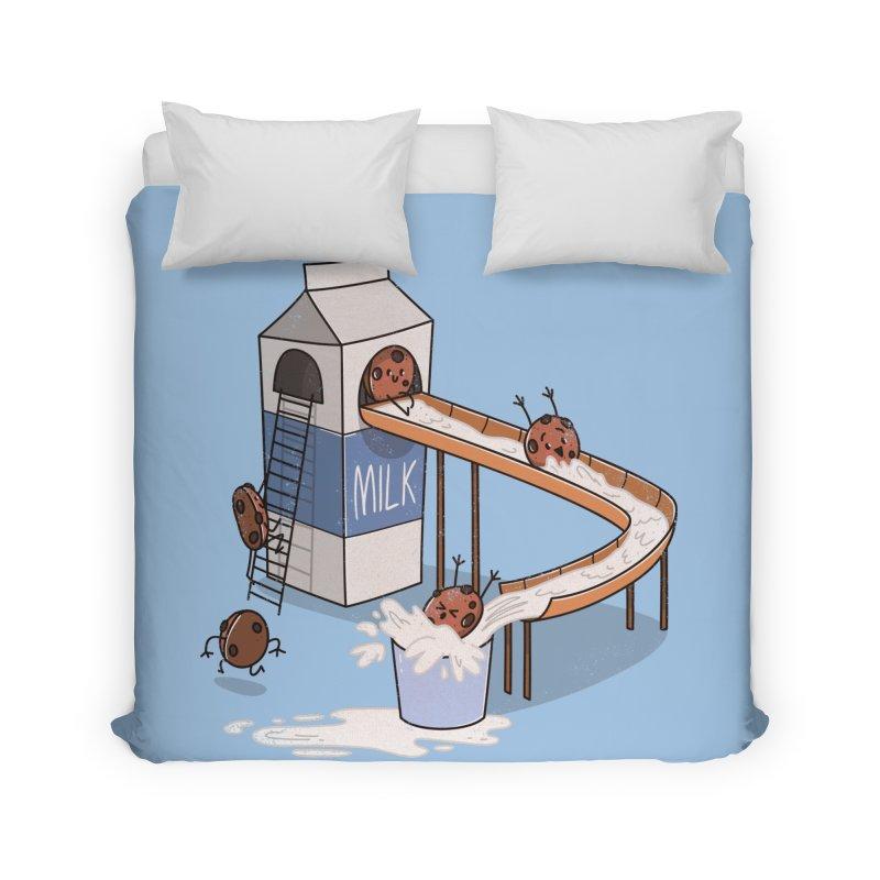 Cookie Slide Home Duvet by TipTop's Artist Shop